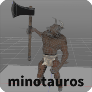 Minotauros Content for Shade 3D