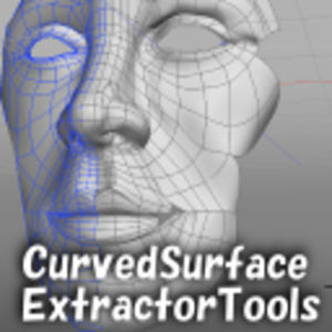 Curved Surface Extractor Plugin for Windows and Mac OS X